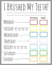 dental-routine-chart