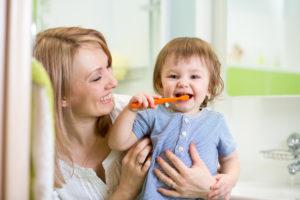 kid-having-fun-brushing